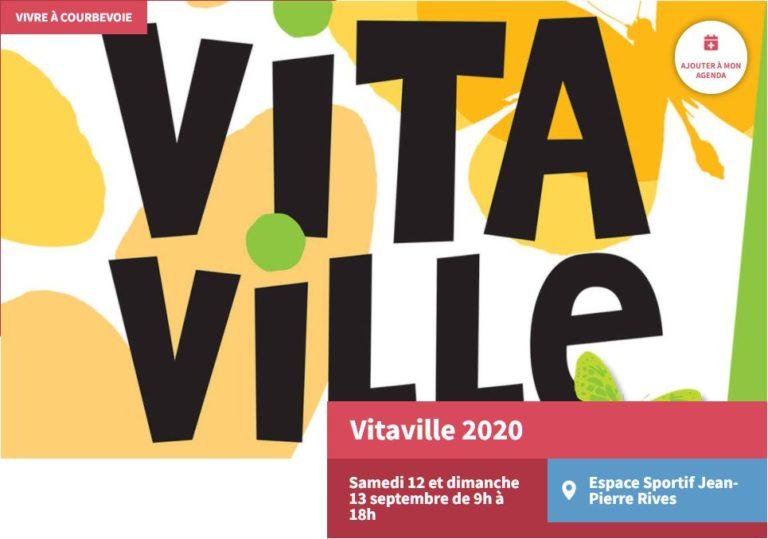 Rencontrez nous à Vitaville le 12 septembre !